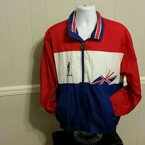 Vintage 1996 Atlanta Olympic Jacket Union Jack